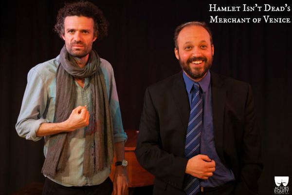 Freddie Stevenson (Tubal) & Leo Goodman (Shylock) Photo