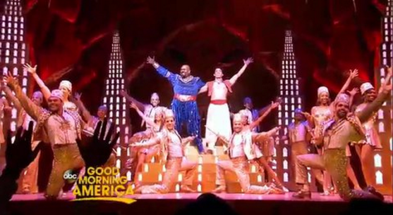 Broadways ALADDIN Performs New Version Of Friend Like Me Live On GMA Today