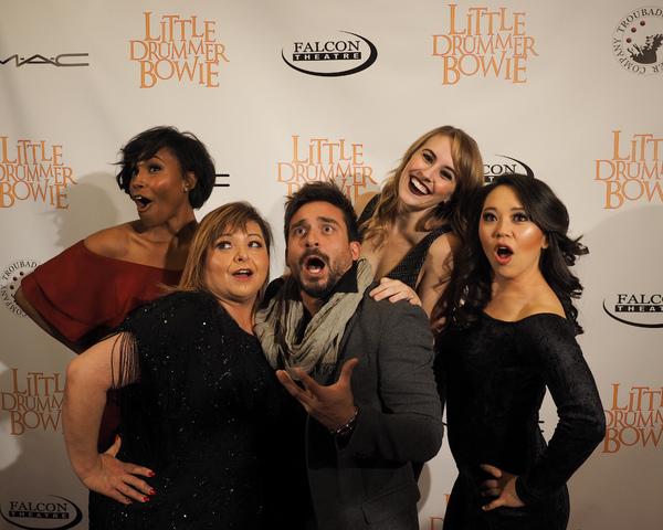 Cloie Wyatt Taylor, Lisa Valenzuela, Riccardo Berdini, Katie DeShan, and Katie Kitani Photo
