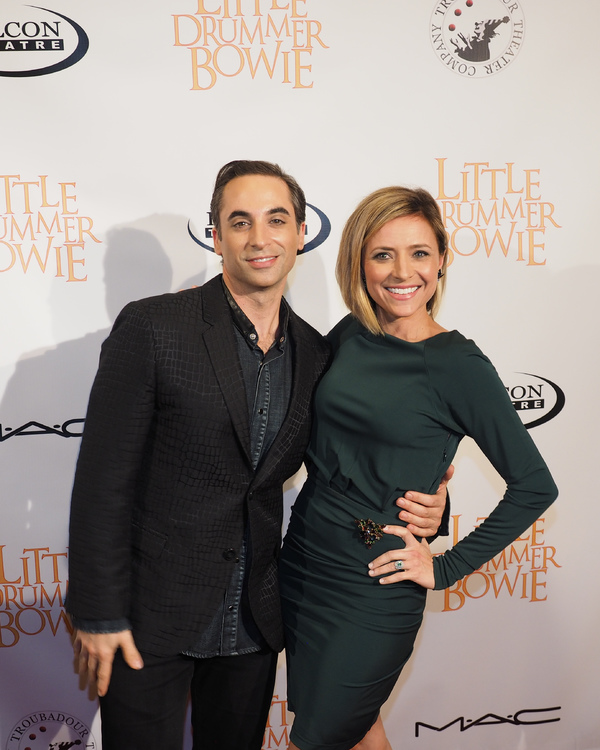 Joseph Leo Bwarie and Christine Lakin Photo
