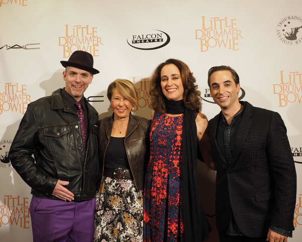 Matt Walker, Yeardley Smith, Beth Kennedy, and Joseph Leo Bwarie