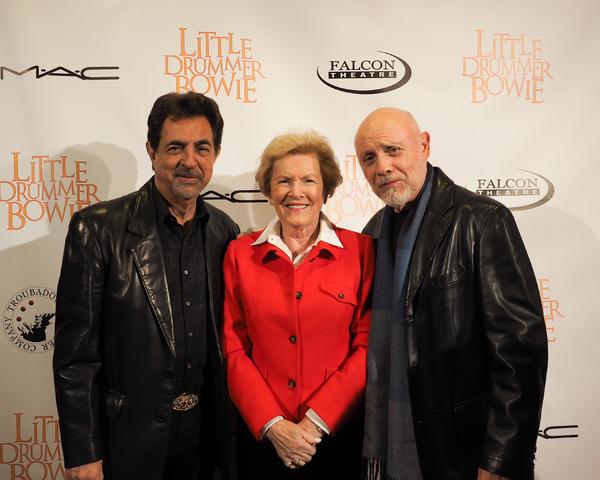 Joe Mantegna, Barbara Marshall, and Hector Elizondo