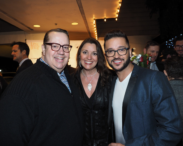 Paul Vogt, Sherry Greczmiel, and Jai Rodriguez