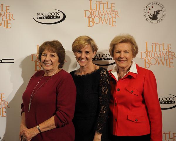 Ronny Hallin, Kathleen Marshall DeGambina, and Barbara Marshall