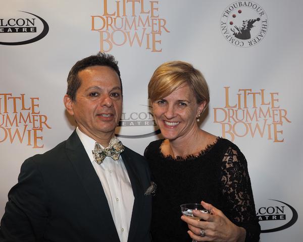 Rick Batalla and Christine Lakin
