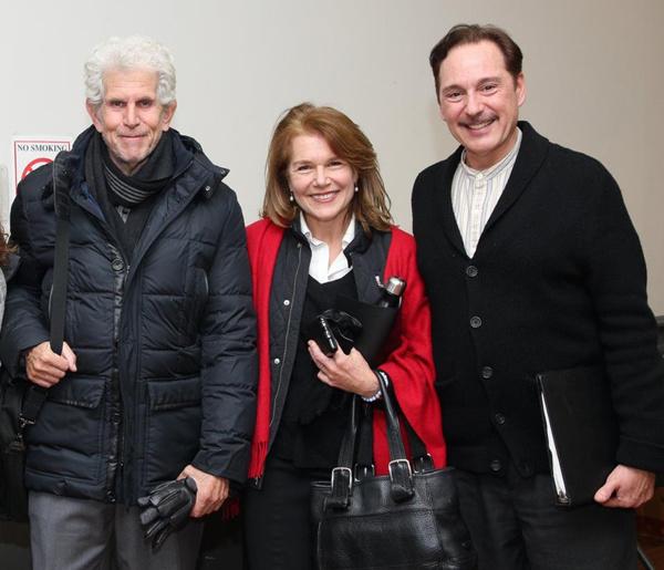 Tony Roberts, Nyack Mayor Jen White, and Kevin Pariseau