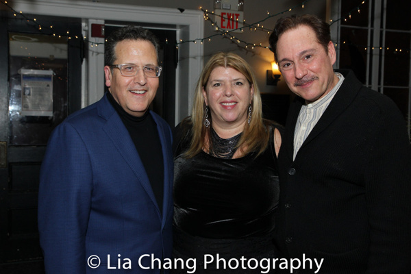 Director Elliott Forrest, Nyack Center Executive Director Kim Cross, and Kevin Pariseau