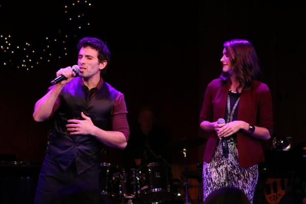 Jarrod Spector and Kelly Barrett