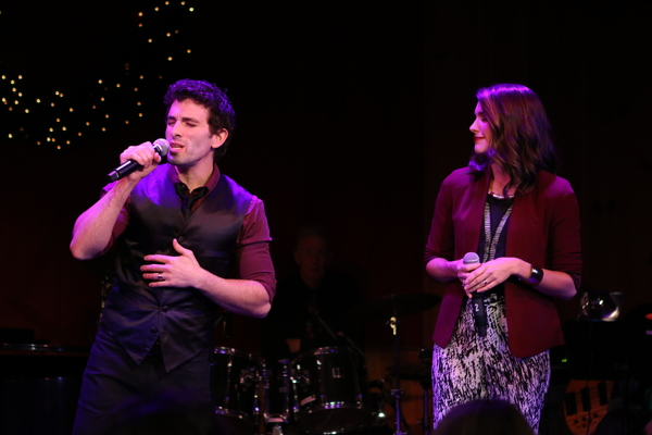Jarrod Spector and Kelly Barrett Photo