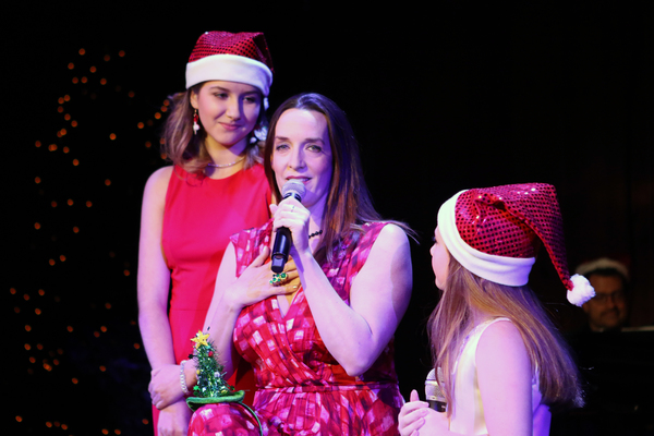 Julia Murney performs with Broadway Dreams students