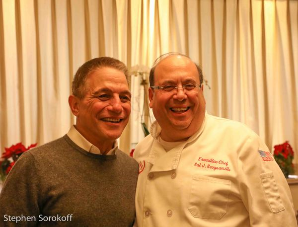 Tony Danza and Sal Scognamillio