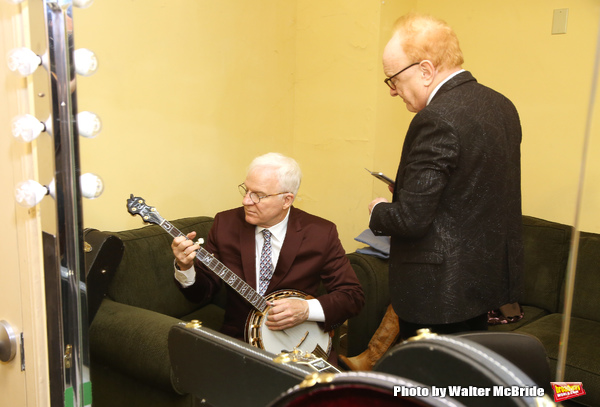 Peter Asher and Steve Martin