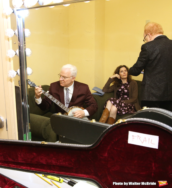 Peter Asher, Edie Brickell and Steve Martin  Photo