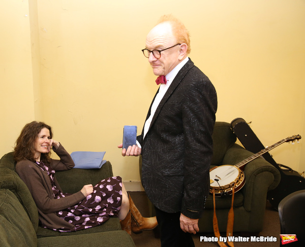 Peter Asher and Edie Brickell