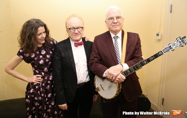 Peter Asher, Edie Brickell and Steve Martin