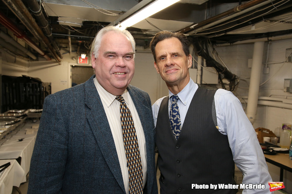 Michael Mulheren and Michael X. Martin  Photo