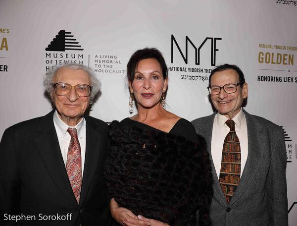 Sheldon Harnick, Ruth Bielski Ehrreich, Dr. Michael Ochs