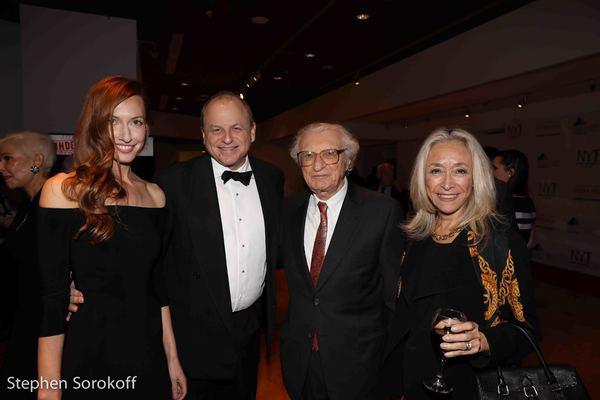 Jessica Swan, Douglas Denoff, Honorary co-chair, Sheldon Harnick, Eda Sorokoff