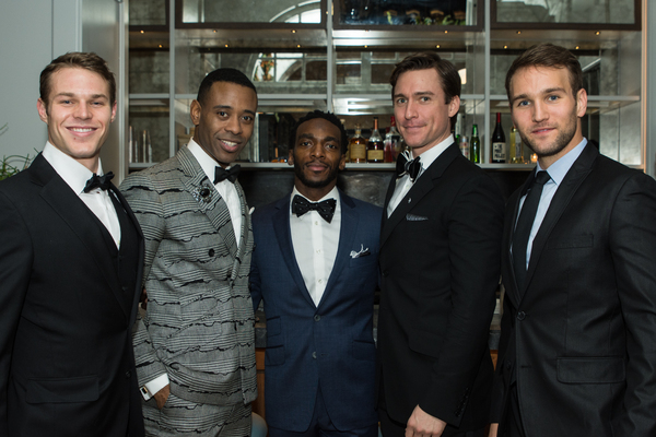 Brock Harris, James Brown III, Daniel J Watts, Alex Michael Stoll and Drew Morelein