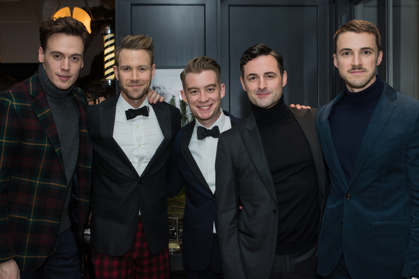 Erich Bergen, Christopher J. Hanke, Tony Marion, Max von Essen and Benton Whitley