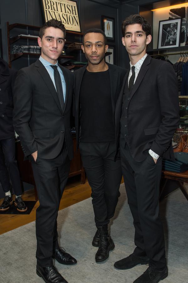 Simon English, Christian Bufford and Matthew Rodin