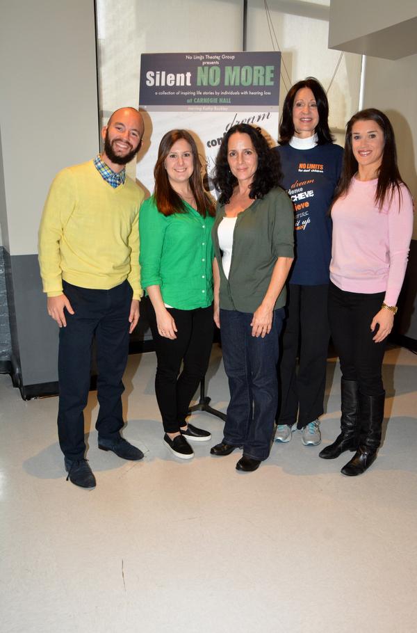 Henry Greenfield, Alexis Cohen, Bridget Pollack, Kathy Buckley and Rebecca Alexander