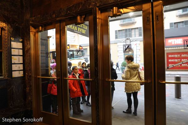 Photo Coverage: Kids Wait Outside To Go INSIDE BROADWAY at CATS