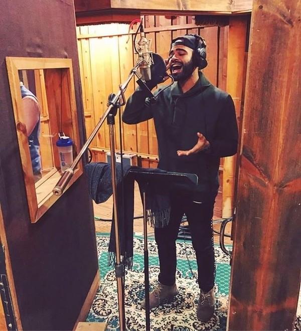 Photo Flash: SPAMILTON Hits the Recording Studio; Album Out Next Spring!