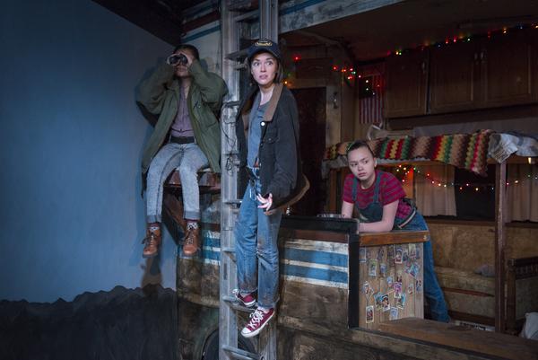 Julissa Contreras, Sarah Cartwright, Ada Grey Photo