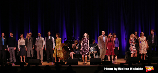 Edie Brickell with the cast
