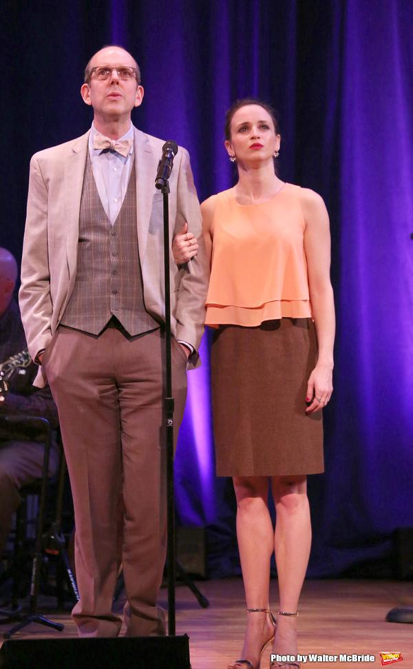 Jeff Blumenkrantz and Emily Padgett