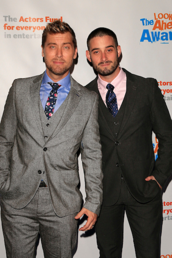 Lance Bass, Michael Turchin Photo