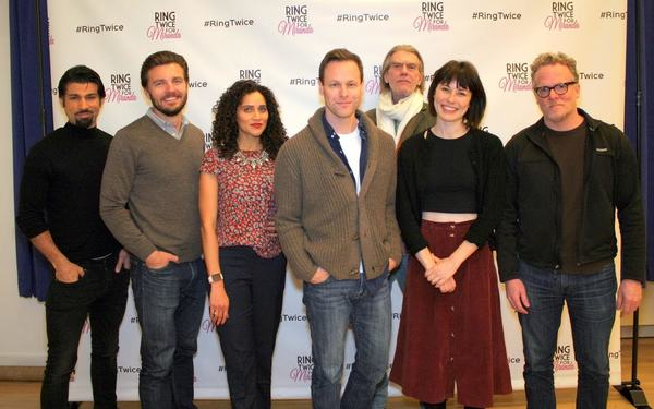Photos: Off-Broadway's RING TWICE FOR MIRANDA Kicks Off Rehearsals