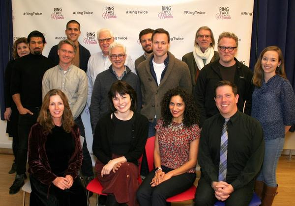 Photo Flash: Off-Broadway's RING TWICE FOR MIRANDA Kicks Off Rehearsals