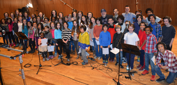 Photo Flash: Inside The Recording Studio with Broadway Records I HAVE A VOICE