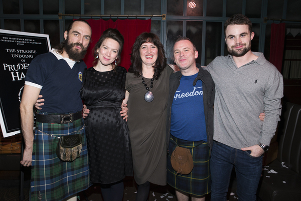 Alasdair MacRae, Melody Grove, Annie Grace, Paul McCole, and Peter Hannah