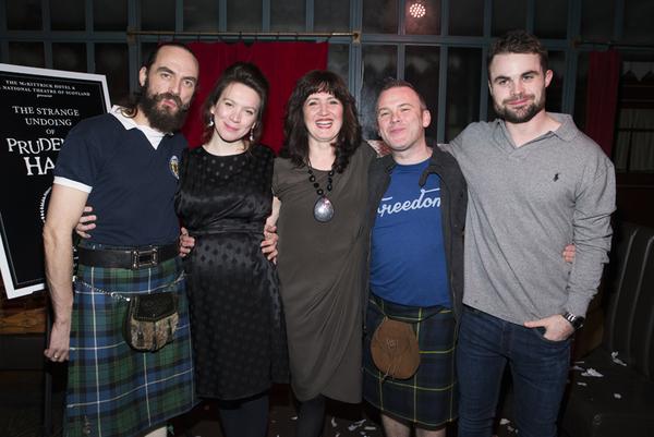 Alasdair MacRae, Melody Grove, Annie Grace, Paul McCole, and Peter Hannah