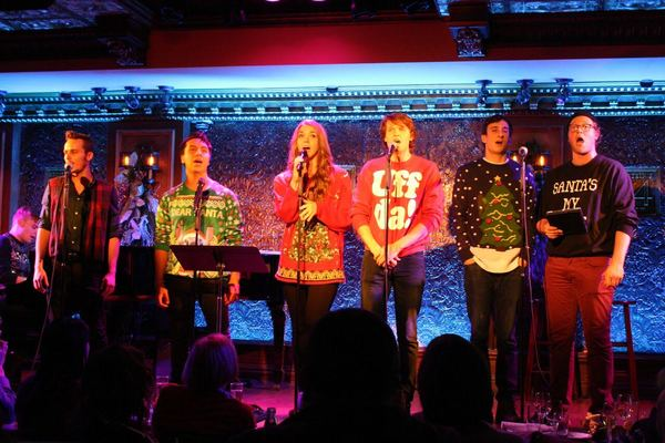 Photo Flash: Inside the 3rd Annual UGLY CHRISTMAS SWEATER SOIREE at Feinstein's/54 Below