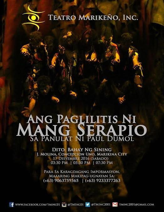 ang paglilitis ni mang serapio Ang paglilitis ni mang serapio is a play written by paul arvisu dumol, currently an economics professor at the university of asia and the pacific, during his high.