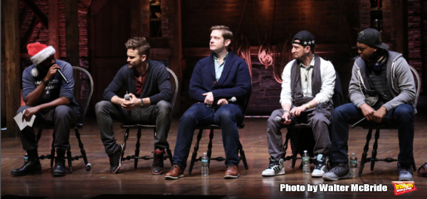 Nik Walker, Neil Haskell, Rory O'Malley, Roddy Kennedy and J. Quinton Johnson  Photo