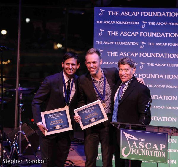 Benj Pasek, Justin Paul, Stephen Schwartz, Harold Adamson Award