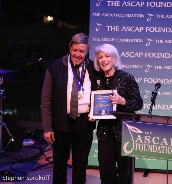Shelly Markham & Jamie deRoy, Jamie deRoy & friends Award