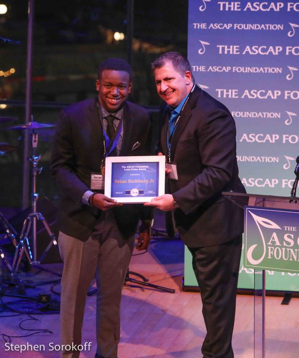 Brian Richburg, Jr. & Louis Prima, Louis Prima Award