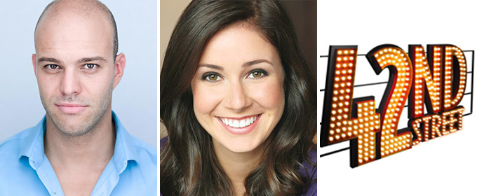 Clara Cox and Matthew Taylor to Tap Dance Across the U.S. in 42ND STREET; Tour Dates Announced!