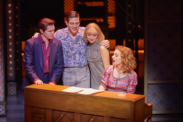 Photo Flash: First Look at Matthew Seadon-Young, Barbara Drennan and Joseph Prouse in West End's BEAUTIFUL - THE CAROLE KING MUSICAL