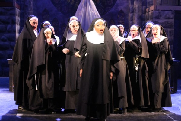 Photo Flash: Rejoice! First Look at SISTER ACT, Opening Today at WPPAC