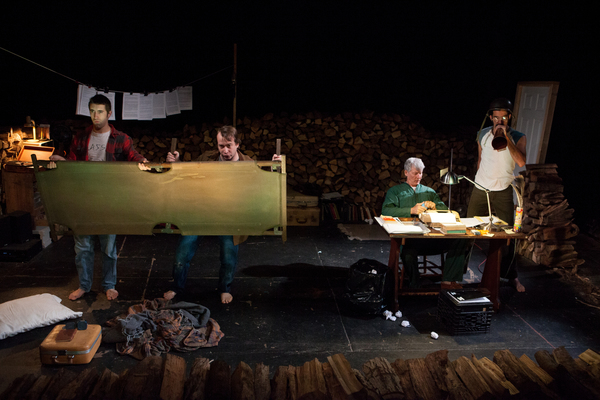 Matteo Scammell, Scott Sheppard, Bill George, Jaime Maseda Photo