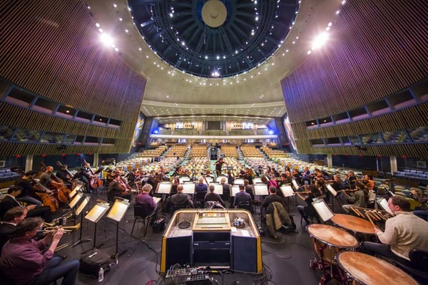 Photo Flash: Alan Gilbert and the New York Philharmonic Perform at United Nations