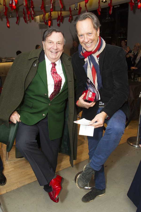 Barry Humphries and Richard E. Grant