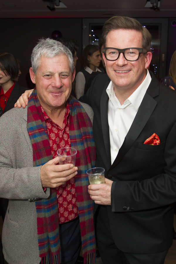 Cameron Mackintosh and Matthew Bourne